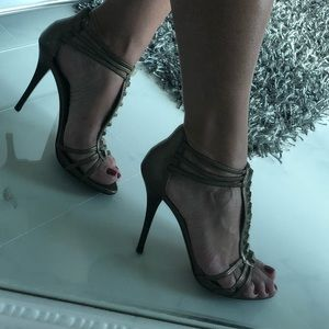 Golden Marciano Heels